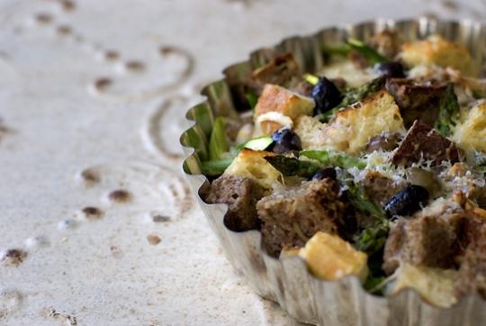 Savory Asparagus Bread Pudding Recipe - 101 Cookbooks | KeepRecipes ...