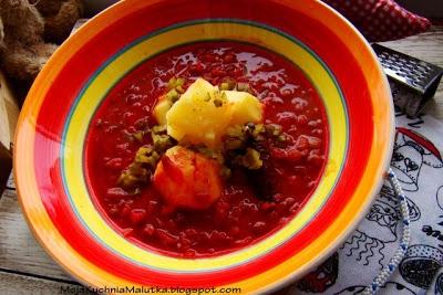 Pyszna Zupa Z Soczewicy Z Ziemniakami I Korniszonem