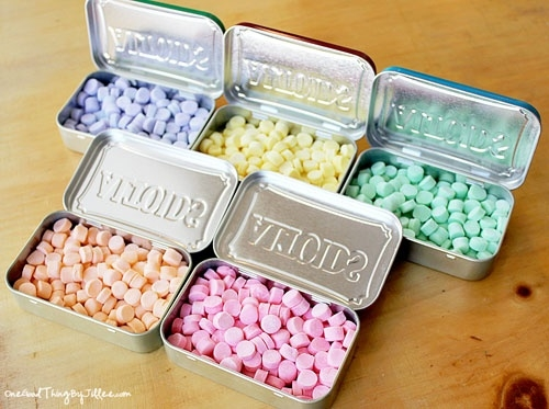 Make Your Own Curiously Strong Mints Altoids