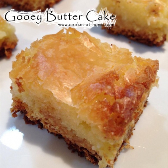 Gooey Butter Cake Recipe Easy