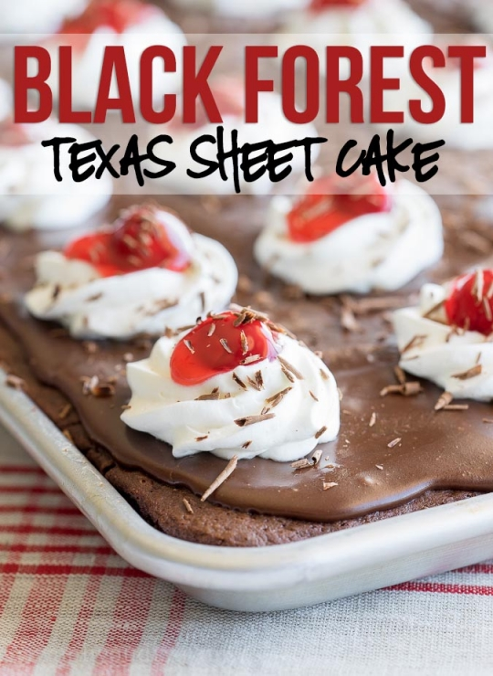 Black Forest Texas Sheet Cake Recipe KeepRecipes Your Universal