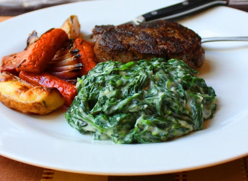 recipe: creamed spinach side dish [11]