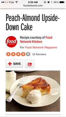 Keep Peach Upside Down Cake At Room Temperature