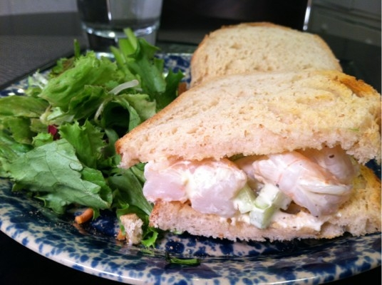 Shrimp Salad Sandwich Keeprecipes Your Universal Recipe Box
