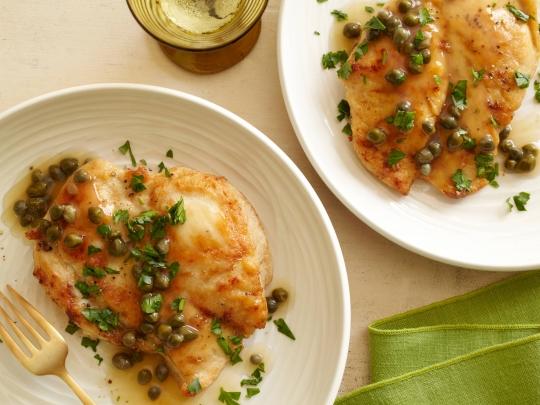 Chicken piccatagiada de laurentiis keeprecipes your universal see original recipe at foodnetwork forumfinder Gallery