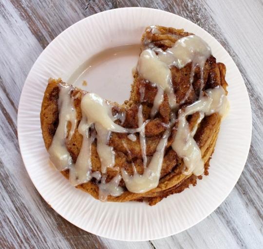 Pumpkin Cinnamon Roll Pancakes | KeepRecipes: Your Universal Recipe ...