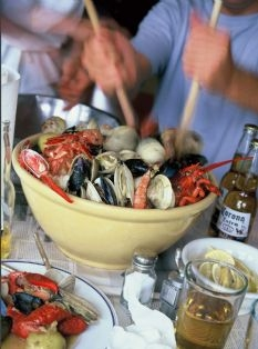 Barefoot Contessa Kitchen Clambake Keeprecipes Your Universal