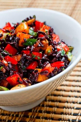 Thai Black Rice Salad | KeepRecipes: Your Universal Recipe Box