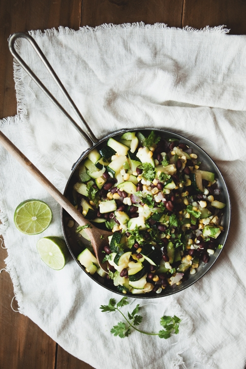 Warm Zucchini, Corn, and Black Bean Salad | KeepRecipes: Your ...