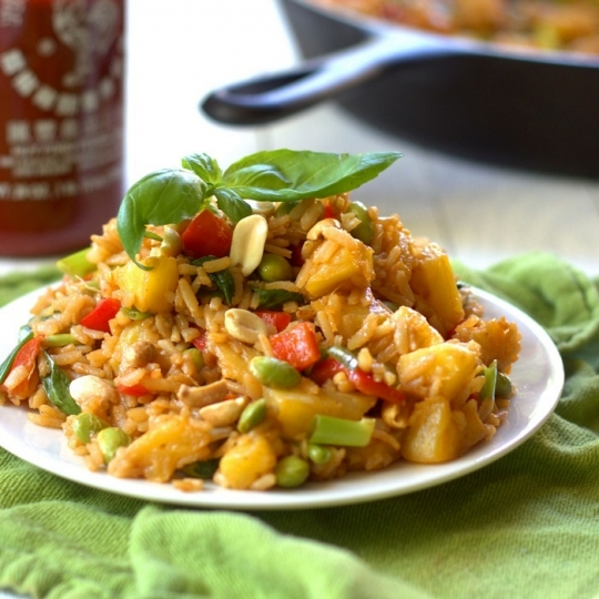 Pineapple Fried Rice | KeepRecipes: Your Universal Recipe Box