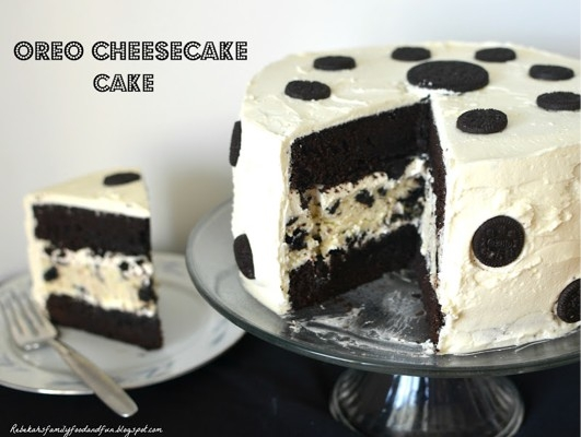 Oreo Cheesecake Cake Keeprecipes Your Universal Recipe Box