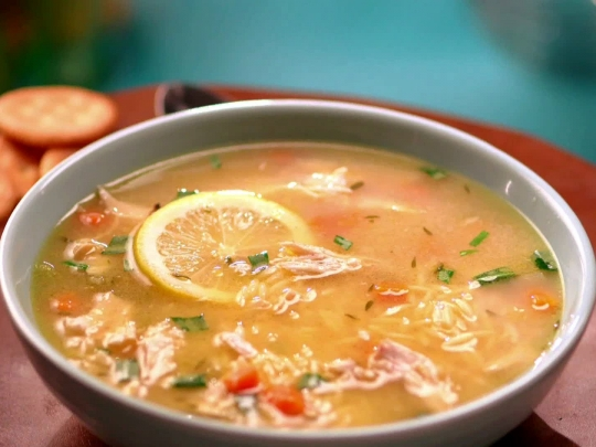 Chicken lemon orzo soup keeprecipes your universal recipe box chicken lemon orzo soup see original recipe at foodnetwork forumfinder Images