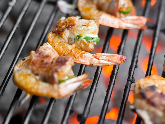 Bacon-Wrapped, Jalapeno and Cheese-Stuffed Shrimp ...