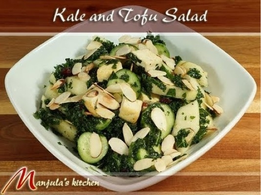 how to cook firm tofu for salad