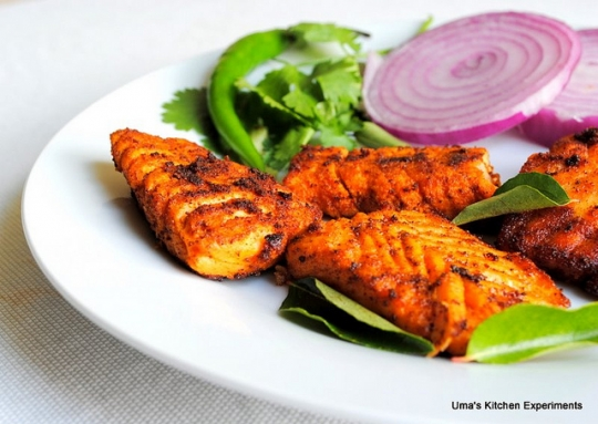 Simple salmon fish fry keeprecipes your universal for Easy fish fry recipe