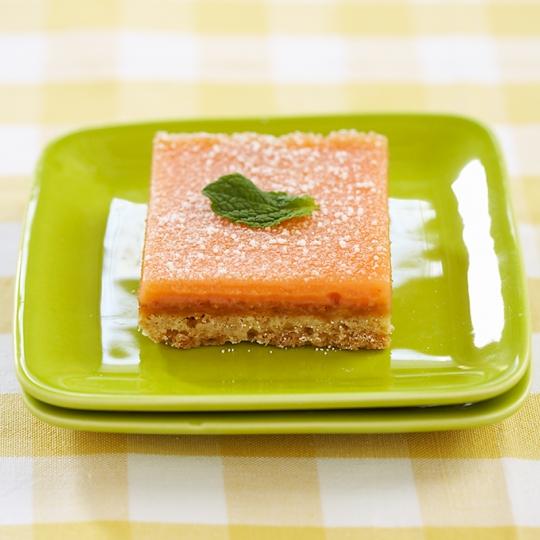 Texas Pink Grapefruit Bars Recipe