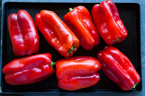 Marinated Roasted Red Bell Peppers | KeepRecipes: Your ...