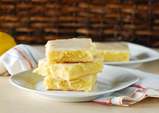 Sticky Gooey Lemon Brownies Keeprecipes Your Universal