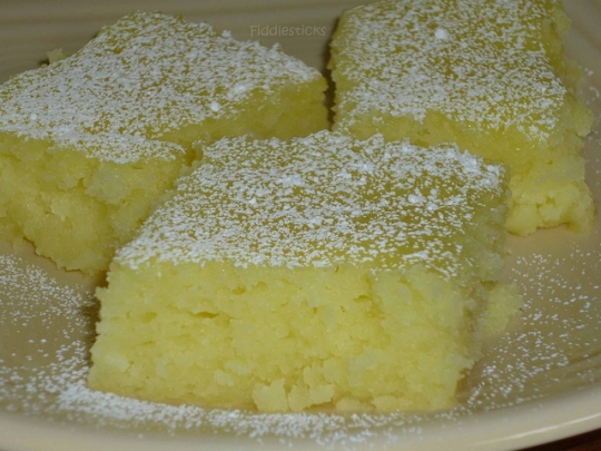 Two Ingredient Lemon Bars Keeprecipes Your Universal
