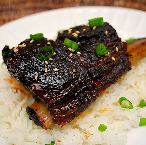 Korean Style Short Ribs Crockpot Keeprecipes Your Universal Recipe Box