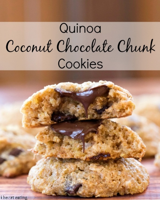 Quinoa Coconut Chocolate Chunk Cookies | KeepRecipes: Your Universal ...