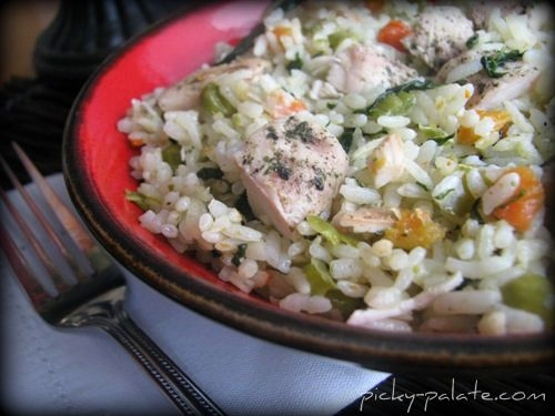 Romano Ranch Chicken and Rice Skillet Dinner | KeepRecipes: Your ...