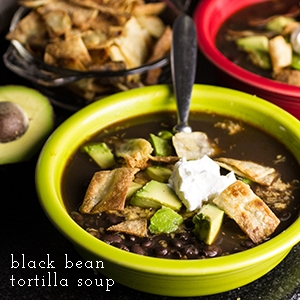 Black Bean Tortilla Soup | KeepRecipes: Your Universal ...