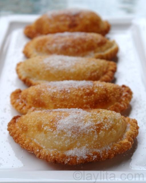 Empanadas de viento or fried cheese empanada recipe | KeepRecipes ...