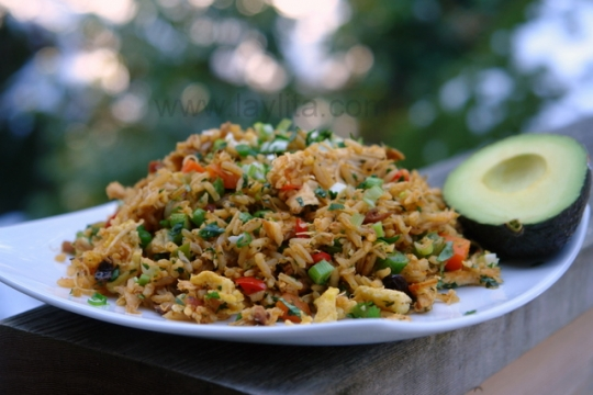 Chaulafan de pollo or ecuadorian chicken fried rice recipe see original recipe at laylita forumfinder Images
