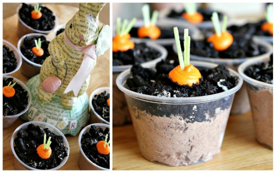 Carrot Patch Pudding Cups Keeprecipes Your Universal