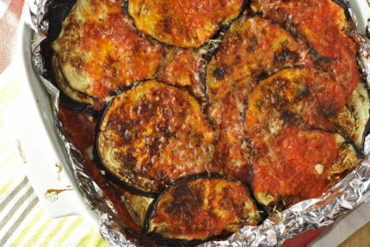 Healthy Eggplant Parmesan (Baked/Vegan/Gluten Free/Paleo ...
