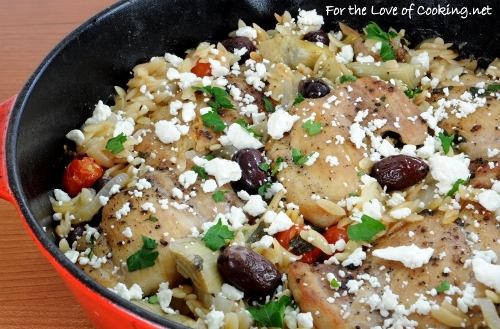 Mediterranean Chicken & Orzo Bake   KeepRecipes: Your Universal Recipe ...