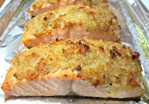 recipe: panko horseradish crusted salmon recipe [9]