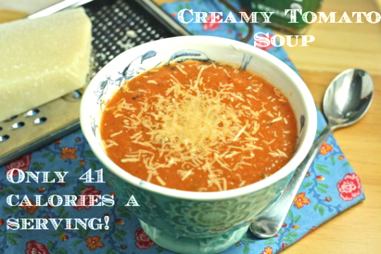 Creamy Tomato Soup (Vegan/Low Fat/Paleo/Low Sodium ...