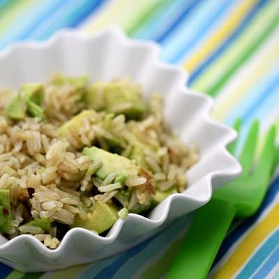 how to keep brown rice moist