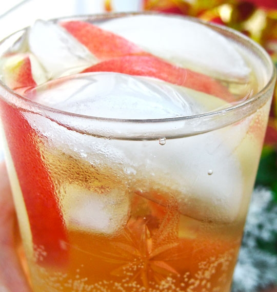 Sparkling White Peach Sangria The 10-Minute Happy Hour | KeepRecipes ...
