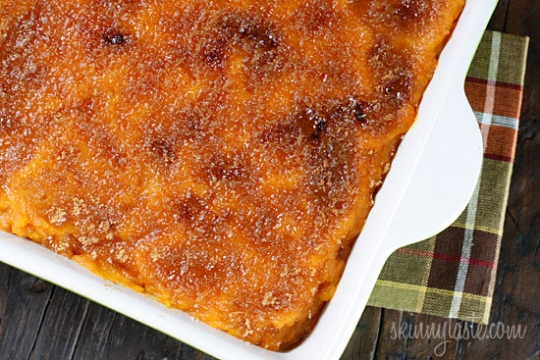 Mashed Sweet Potatoes Brulee Recipe — Dishmaps