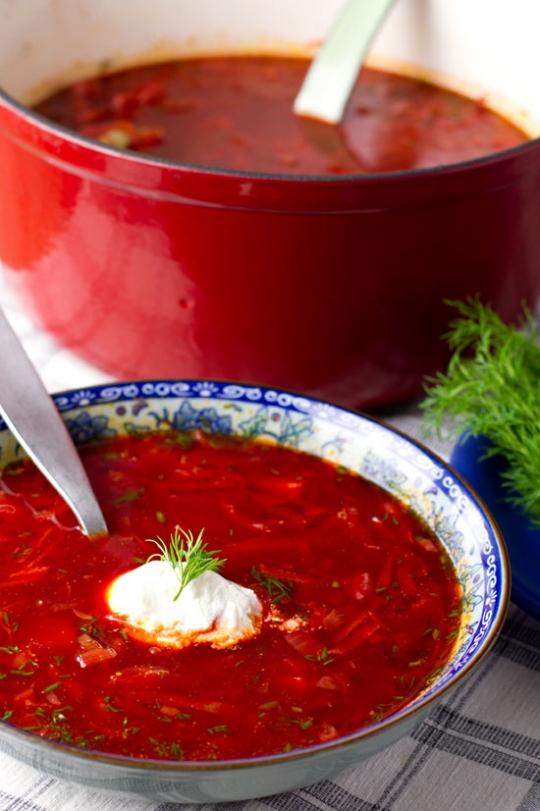 Ukrainian Borscht Recipe Edited Keeprecipes Your Universal Recipe Box