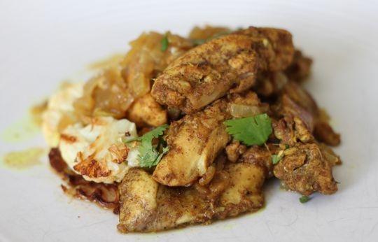 how to cook chicken vindaloo