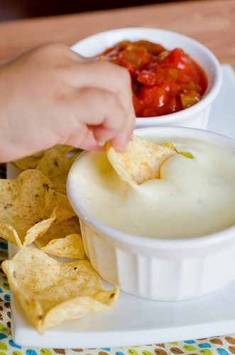 Queso Blanco Dip Leaked By Restaurant Worker
