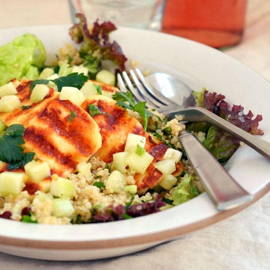 Grilled Halloumi & Quinoa Salad | KeepRecipes: Your Universal Recipe ...