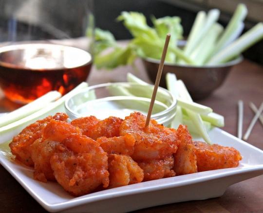 Buffalo Shrimp (baked) | KeepRecipes: Your Universal Recipe Box