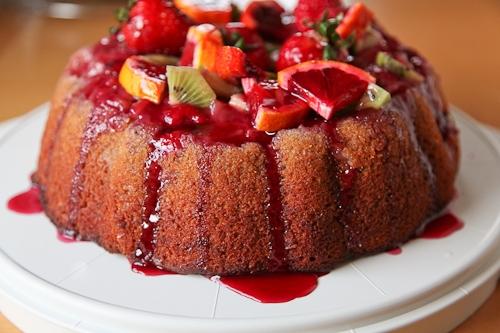 The Sangria Cake | KeepRecipes: Your Universal Recipe Box