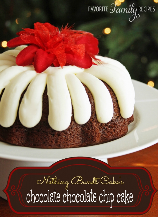 Chocolate Chocolate Chip Nothing Bundt Cake Keeprecipes