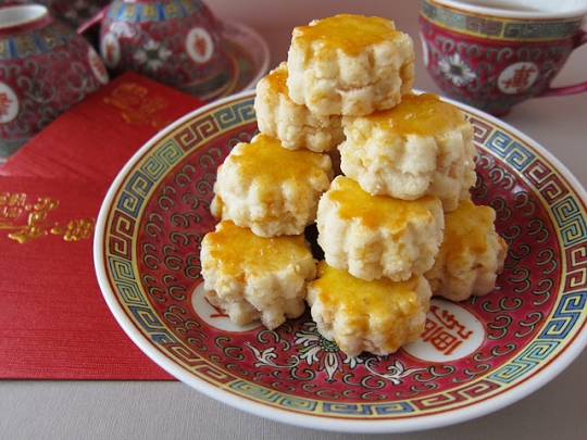 Chinese new year almond cookies keeprecipes your universal recipe box see original recipe at foodmannaspot forumfinder Choice Image