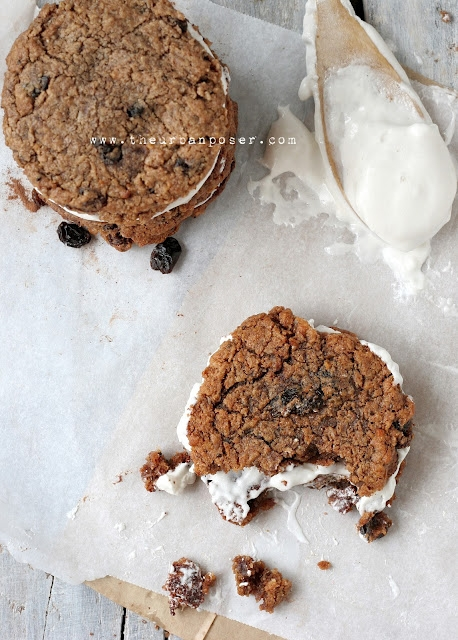 Oatmeal Cream Pies (Marshmallow Fluff with Agar Agar?) | KeepRecipes ...