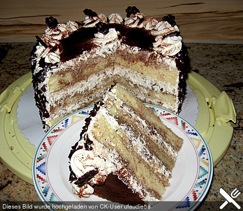 Uschis Tiramisutorte Inspiration For Vegan Tiramisu Cake