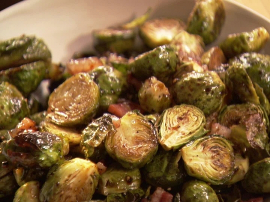 Ina Garten Brussel Sprouts with Balsamic Vinegar ...