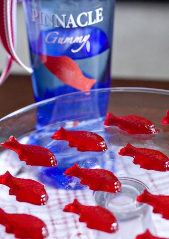 Swedish fish jello shots keeprecipes your universal for Swedish fish recipe