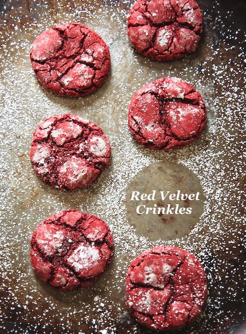 Red Velvet Crinkle Cookies | KeepRecipes: Your Universal Recipe Box